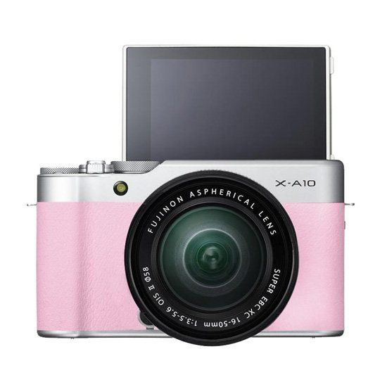 Jual Fujifilm X-A10 with 16-50mm f3.5-5.6 OIS II