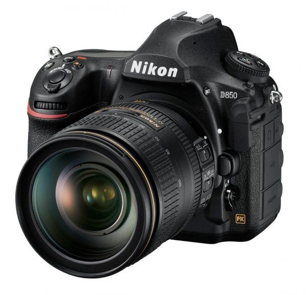 Nikon D850 DSLR Camera Kit AF-S 24-120mm F4 G ED VR