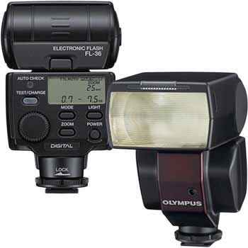 Jual Olympus Fl 36r Shoe Mount Flash For Olympus Digital Cameras