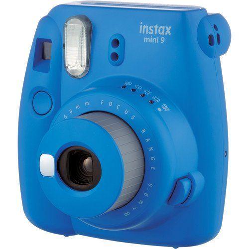 Jual Fujifilm Instax Mini 9 Instant Film Camera Cobalt Blue