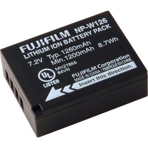 Lithium Ion Battery >> Fujifilm Np W126 Li Ion Battery Pack
