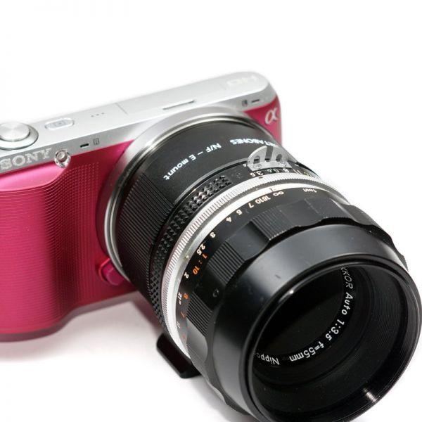 Metabones Nikon F Lens to Sony NEX Adapter II