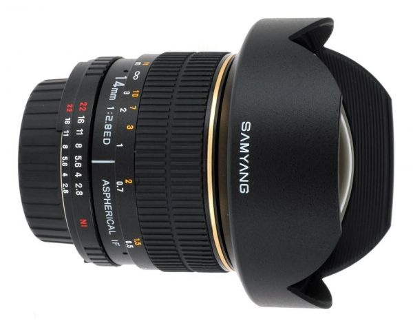 Samyang for Nikon AE (Manual) Samyang 14mm F2 8 IF ED MC Aspherical