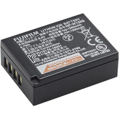 Lithium Ion Battery >> Fujifilm Np W126s Li Ion Battery Pack