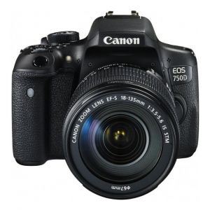 Canon eos 750D kit 18-135mm f3.5-5.6 IS STM WIFI