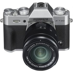 Fujifilm X-T20 Mirrorless with 16-50mm (Silver) + Instax Share SP2