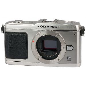 Olympus PEN E-P1 Body only  (Harga khusus)free SD8GB+Leather case+ Jacket